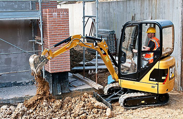 CAT 301.4C Mini Excavator Specifications