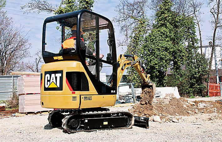 CAT 301.4C Mini Excavator key Features
