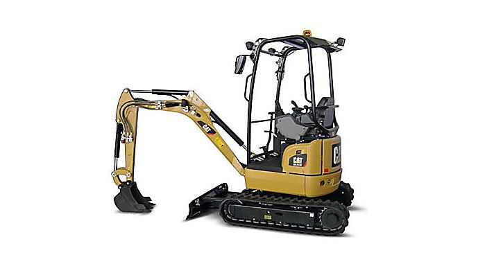 CAT 301.7D CR Mini Excavator Overview
