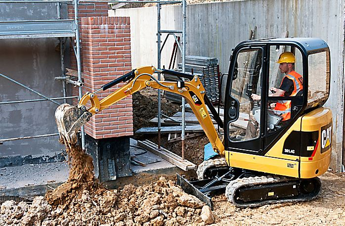 CAT 301.7D Mini Excavator Specifications