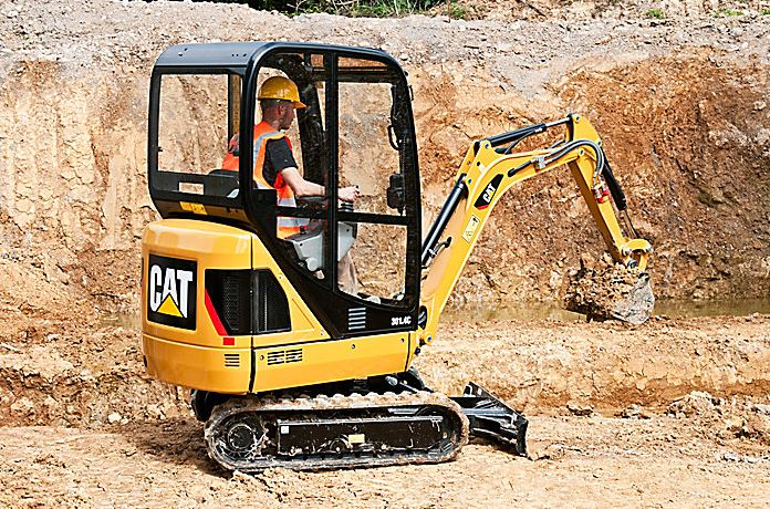 CAT 301.7D Mini Excavator price