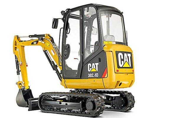 CAT 302.4d Mini Excavator Overview