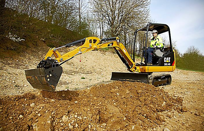CAT 302.4d Mini Excavator Specifications