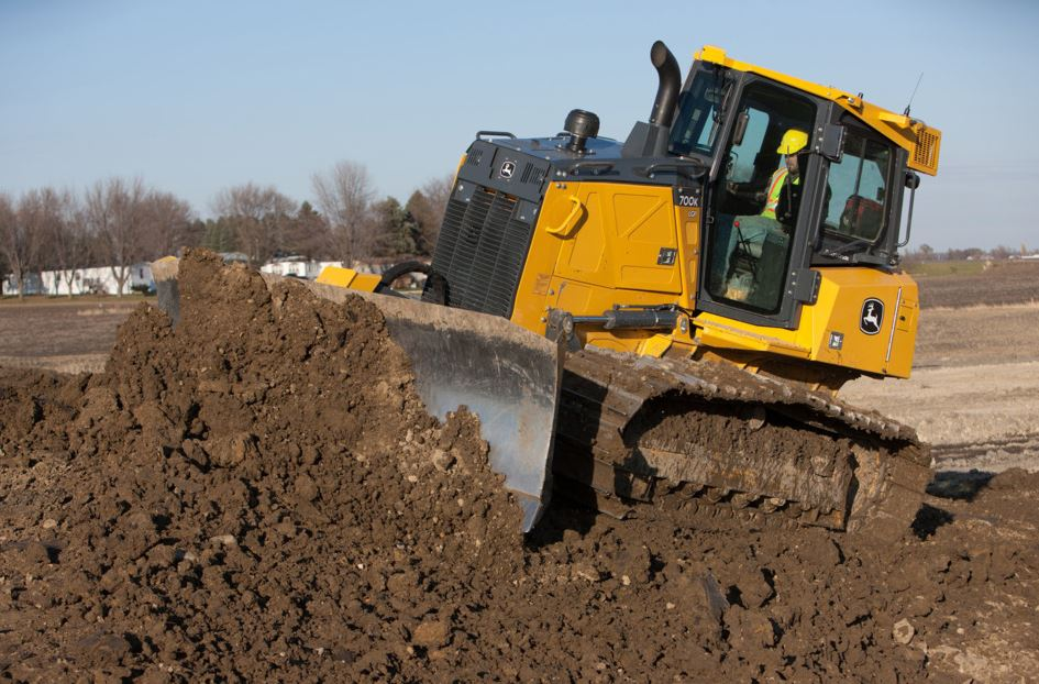 John Deere 450K Crawler Dozer Specifications