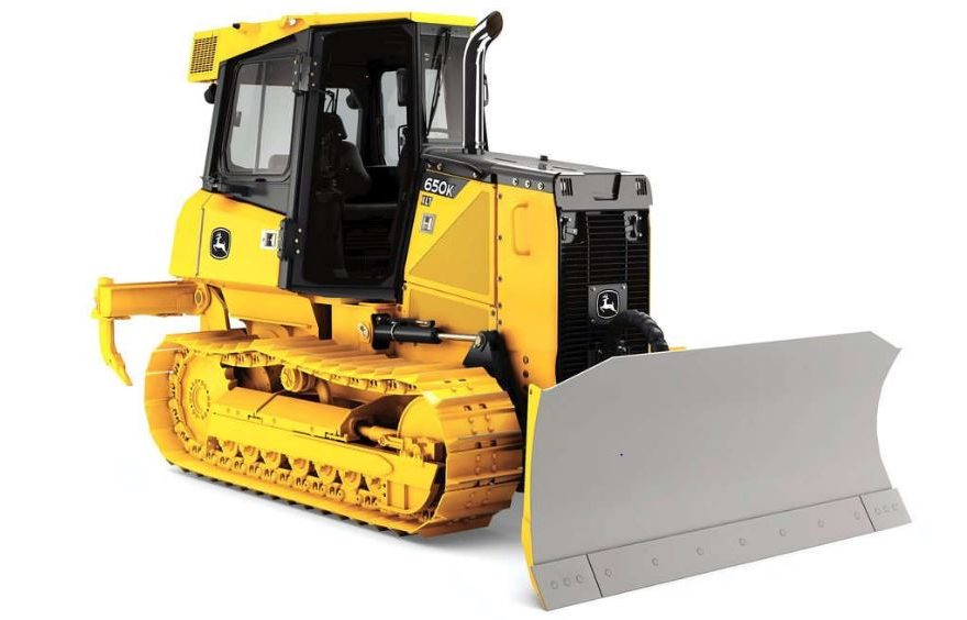 John Deere 650K Crawler Dozer Construction Equipment