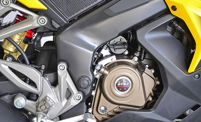 bajaj pulsar rs 200 Bike engine