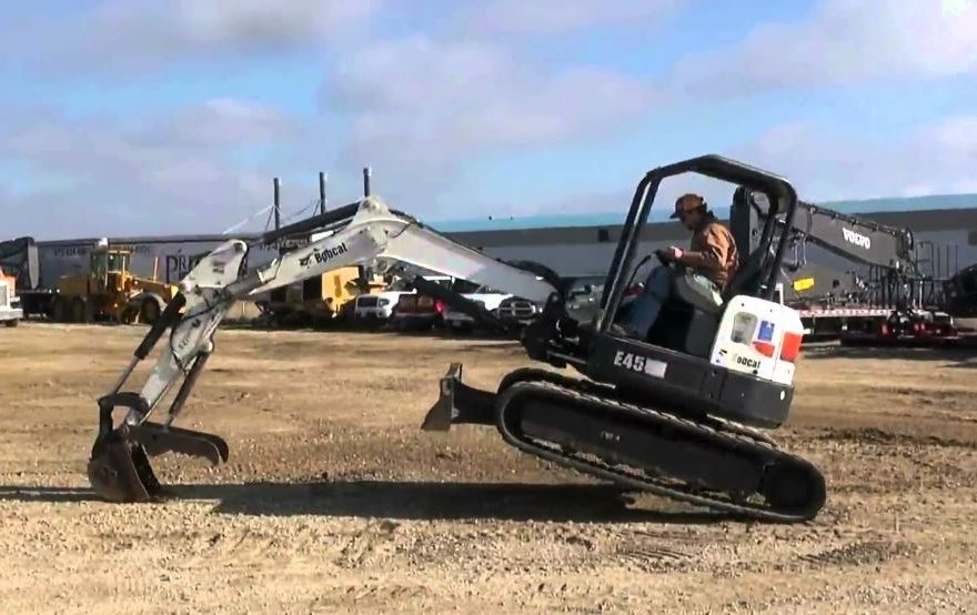 Bobcat E45 Mini Excavator Overview