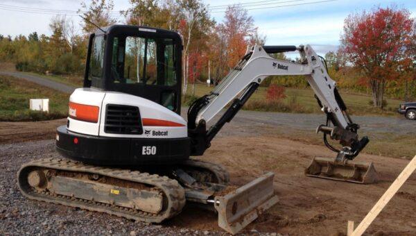Bobcat E50 Mini Excavator Overview