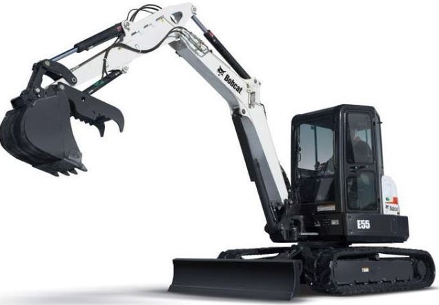 Bobcat E55 Mini Excavator Overview