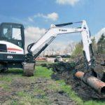 Bobcat E55 Mini Excavator Cost Specs Features Review & Images