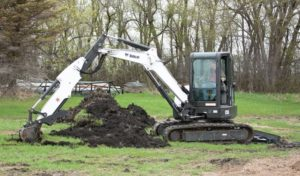 Bobcat E55 Mini Excavator price