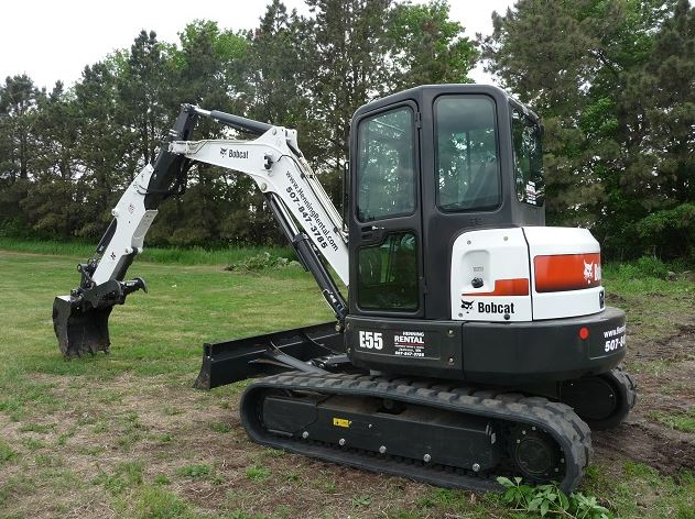 Bobcat E55 Mini Excavator specifications