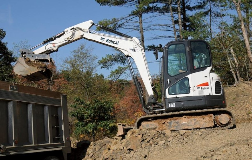 Bobcat E63 Mini Excavator Overview