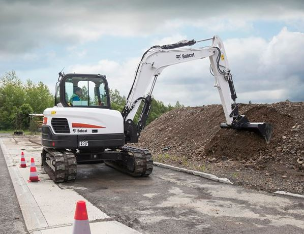 Bobcat E85 Mini Excavator Specifications