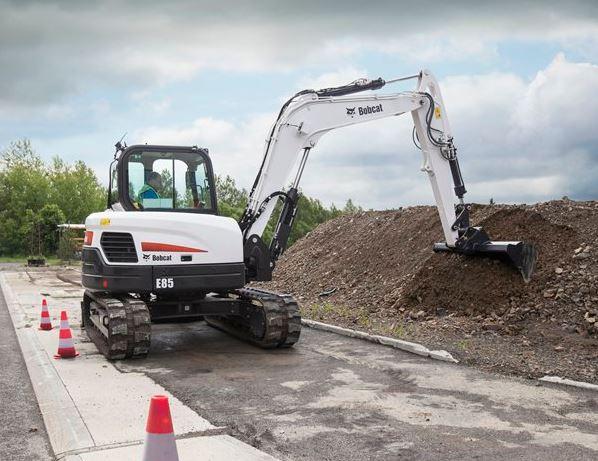 Bobcat E85 Mini Excavator Specifications