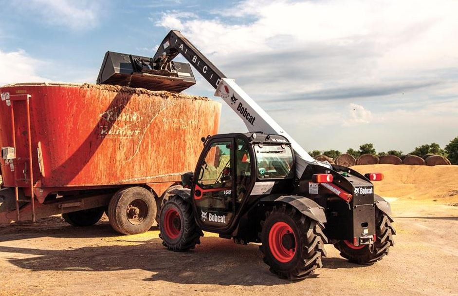 Bobcat VersaHANDLER V519 Telehandler Key Facts