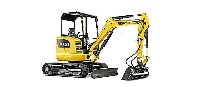 CAT 302.7D CR Mini Excavator Overview