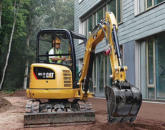CAT 302.7D CR Mini Excavator Specifications