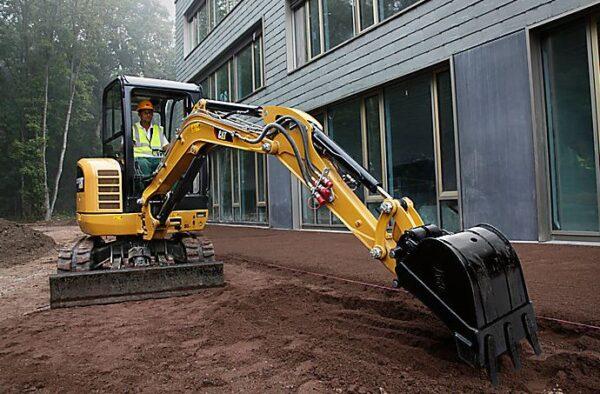 CAT 302.7D CR Mini Excavator key Features