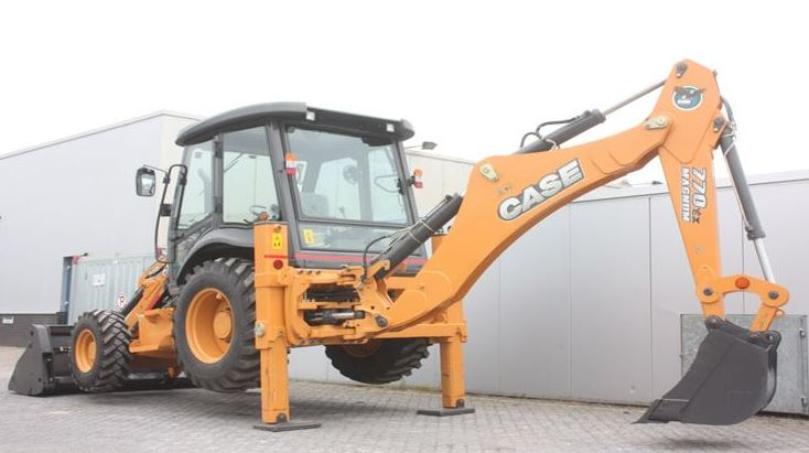 Case 770EX Backhoe Loaders Key Features