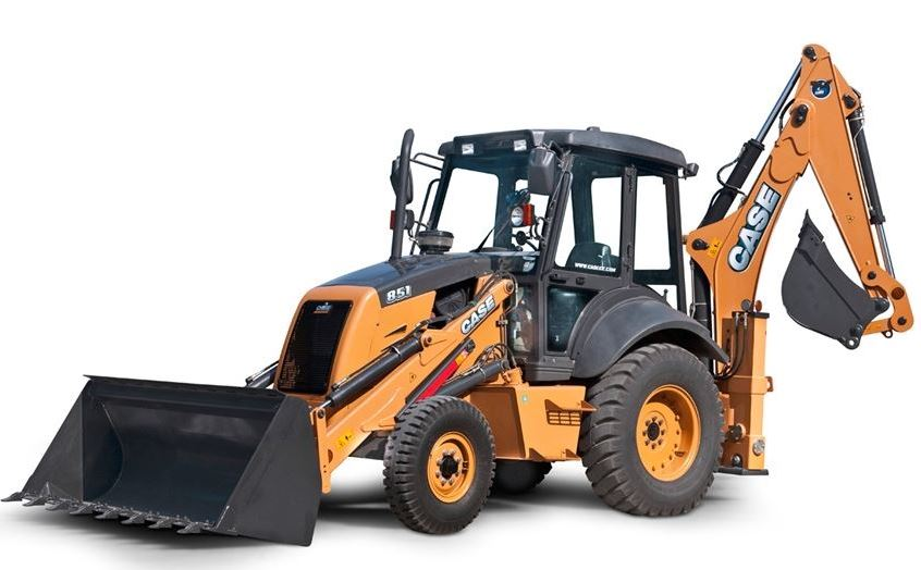 Case 851EX Backhoe Loader Key Features