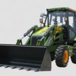 Escorts Jungli 4×4 Backhoe Loader Earthmoving Equipment Information