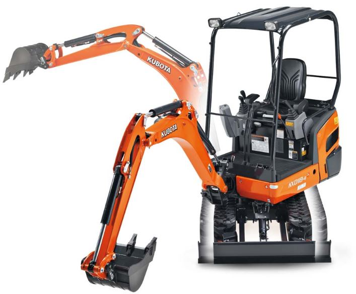 Kubota K008-3 Mini Excavator Specifications