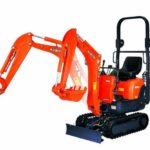 Kubota K008-3 Mini Excavator (0.8 TONNE) Price Specs Features