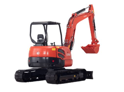 Kubota U50-5S Mini Excavator Price in Inidia
