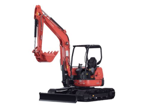 Kubota U50-5S Mini Excavator Specifications