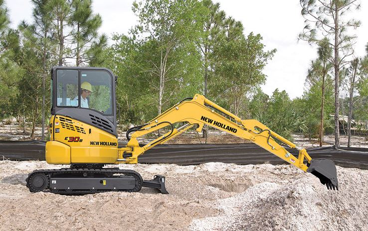 New Holland E30B Mini Excavator price specs