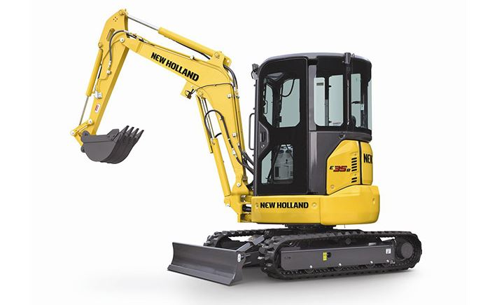 New Holland E35B Mini Excavator price specs