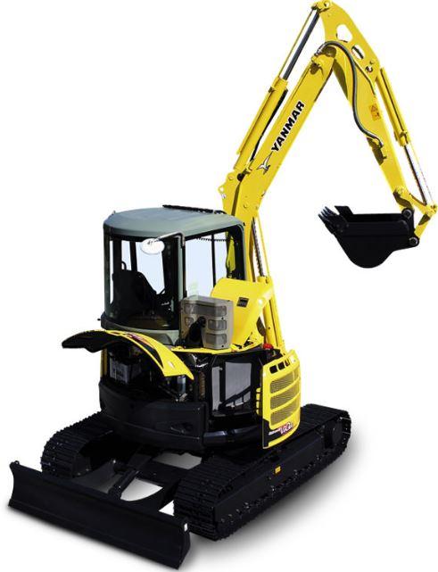 Yanmar ViO55-5 Mini Excavator