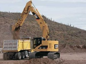 Caterpillar 328D LCR price in India
