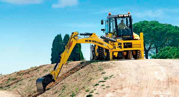 New Holland B110C Backhoe Loader Specifications