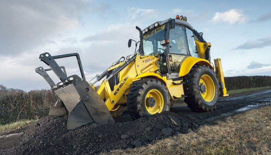 New Holland B110C Backhoe Loader overview