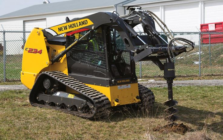 New Holland C234 Compact Track Loader