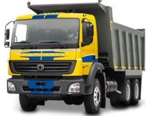 Bharat Benz 2523C Tipper price in India