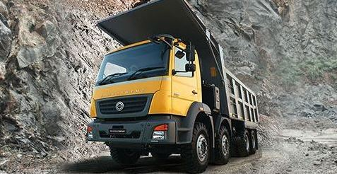 Bharat Benz 2528C Tipper price in India