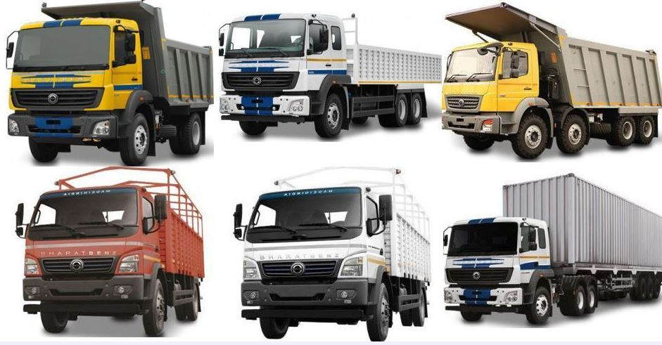 BharatBenz Trucks in India Price List, Specifications