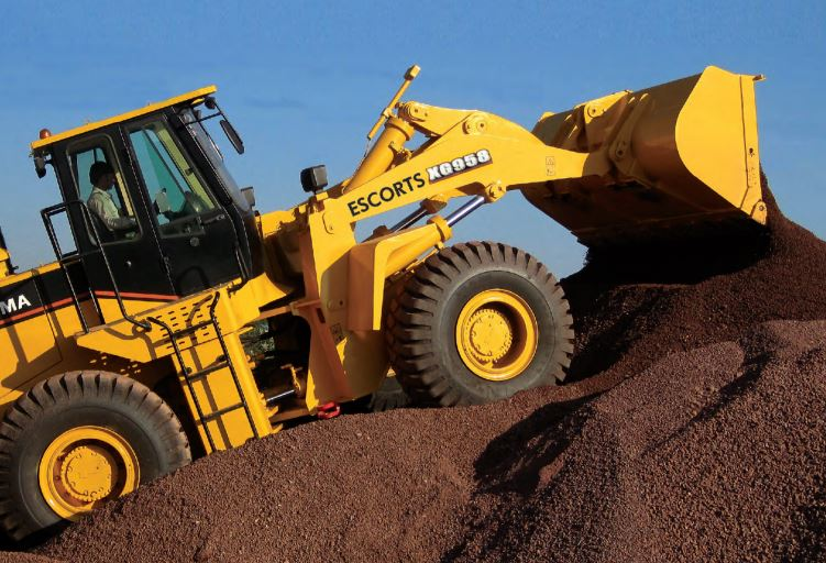 Escort Wheel Loader XG 958 Key Features