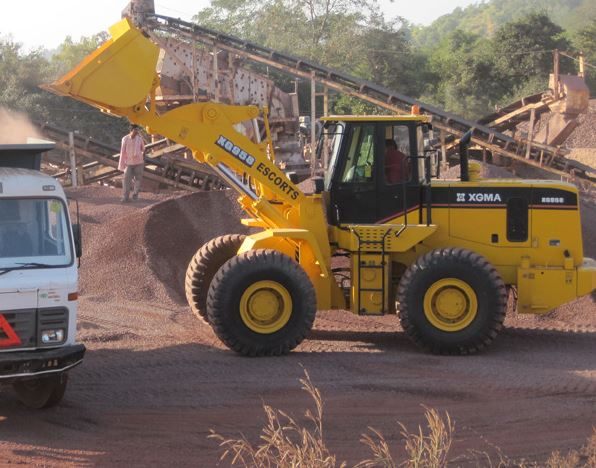 Escort Wheel Loader XG 958 Key Specifications