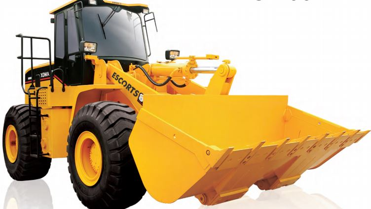 Escort Wheel Loader XG 958 construction equipment