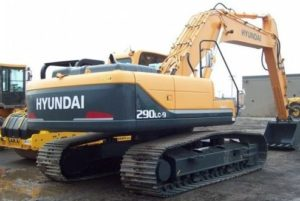 Hyundai R290LC-9 price in india