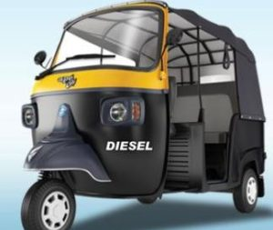 Piaggio Ape City Diesel auto rickshaw price in india