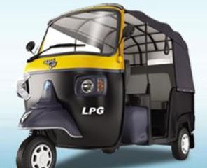 Piaggio Ape City LPG auto rickshaw price in india