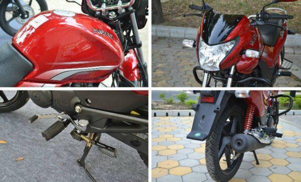 Hero Achiever 150 Bike comfort