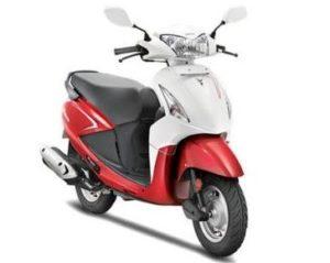 Hero Pleasure Cast Wheel scooter mileage