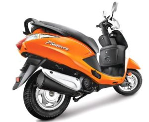 Hero Pleasure Steel Wheel scooter mileage