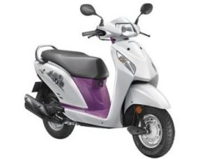 Honda Activa i scooter mileage